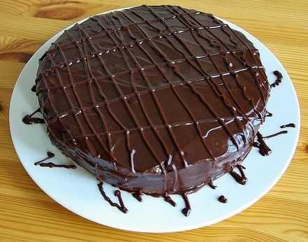 шоколадный тортик